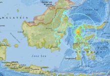 印尼強烈地震海嘯逾1200人死