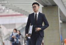 港獨陳浩天出席行會聆訊 不滿政府改時間