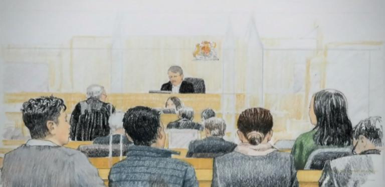 得加拿大法庭批准孟晚舟保釋。(CTV 視頻截圖)