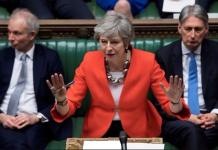 【英國脫歐】下議院大比數否決新脫歐方案 文翠珊表示遺憾