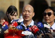 韓國瑜本月底訪港澳內地 港府表示歡迎