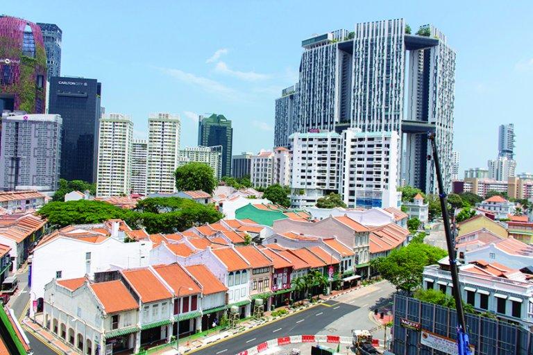 新加坡重視讓人民有屋住。