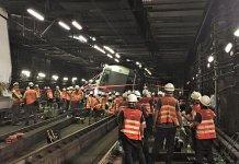 【港鐵撞車】撞毀列車已移離主路軌  荃灣綫服務今早回復正常