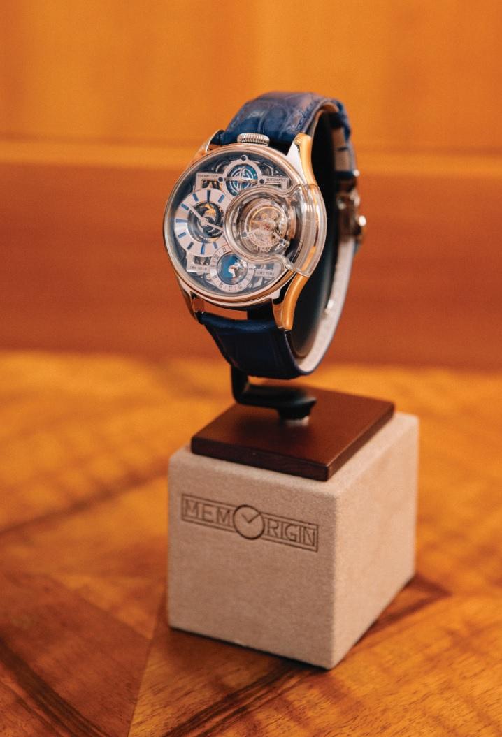 「星恆.尊爵」別具意義,是紀念品牌在香港成立研發室。
