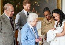 哈利王子夫人梅根誕下七磅三安士男嬰 取名阿奇