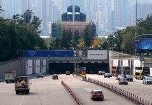 西隧下月加價5至15元 私家車加至75元