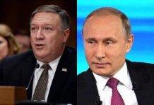 蓬佩奧警告俄羅斯勿干預2020年美國總統選舉