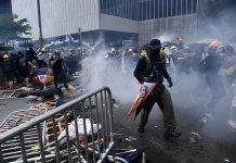 【逃犯條例】警清場後多名大學生被捕