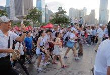 【同聲同氣撐警察】撐警活動大會公布16.5萬人參與  警方指高峰期5.3萬
