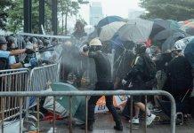 【逃犯條例】盧偉聰﹕示威演變成騷亂警方迫不得已下使用武器