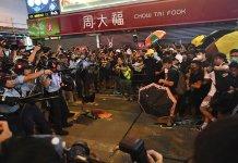 【經濟沉淪】(1)遊行暴力示威不斷 香港經濟攬住死