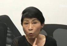 【沙田衝突】TVB記者提問 毛孟靜拍枱發難