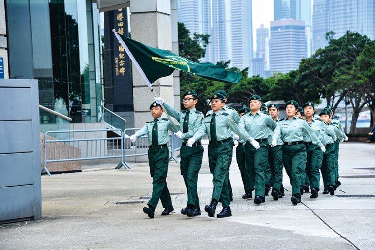 香港青少年軍是香港最年輕的制服團體。