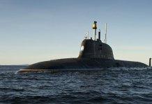 俄軍潛艇失火 7上校2國家英雄死亡