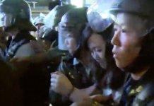 【示威不止】無差別堵路多區受影響    警方尖沙咀拘國泰空姐