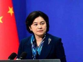 【境外勢力】華春瑩:因表現惡劣 制裁在涉港問題4名美方人員