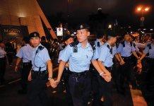 【面對市民】集會剛開始便發稿 政府:八成四滿意警隊表現
