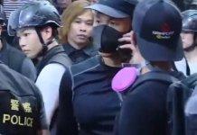 【示威不止】警銅鑼灣扮示威者 太古站電梯堵截拘捕多人