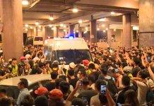 【有片為證】有示威者呼籲於黃大仙換上街坊裝