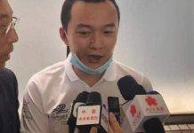 【示威不止】《環球時報》記者付國豪出院:仍然愛香港
