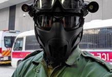【止暴制亂】警隊萬個新款防護面罩 部分到貨今起應用