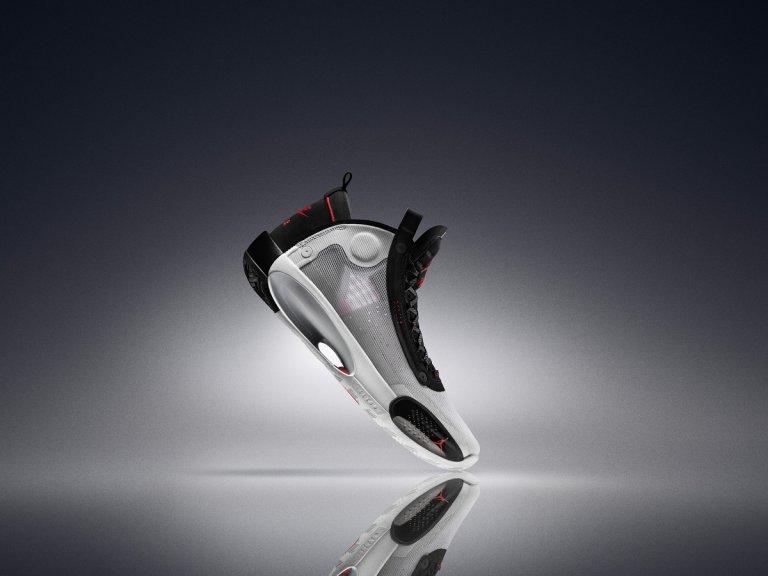 Air Jordan XXXIV是史上最輕的實戰籃球鞋。