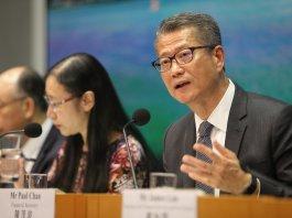 陳茂波﹕香港料第三季負增長 進入技術性衰退