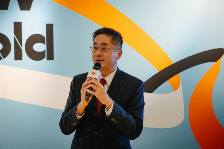署理商務及經濟發展局局長陳百里博士也有出席開幕禮。
