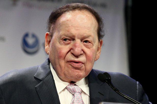 艾德森是美國共和黨主要捐款人。﹙互聯網﹚