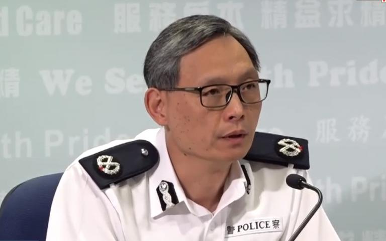 卓孝業認為暴徒應該向香港人表達歉意。(影片截圖)