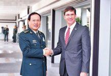 中美防長會晤 促美方慎重處理台灣問題