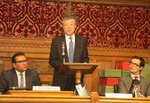 劉曉明斥英下議院 指華影響英國教育界之說毫無根據