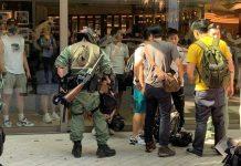 【示威不止】示威者發起7區「行街」 又爆衝突