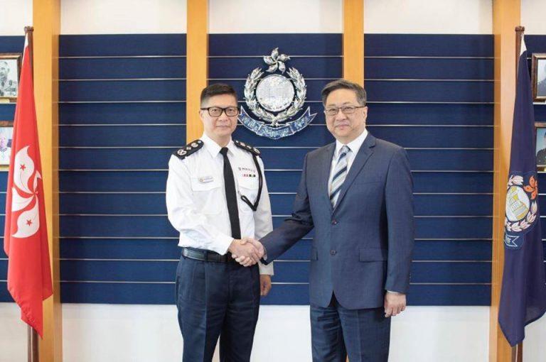 國務院正式任命鄧炳強,接替盧偉聰出任警務處處長。