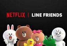Netflix宣布推出LINE FRIENDS原創動畫