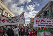 美逾70城市反戰示威  抗議特朗普狙殺伊朗軍官