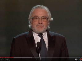 羅拔迪尼路 獲美國演員工會頒終身成就獎
