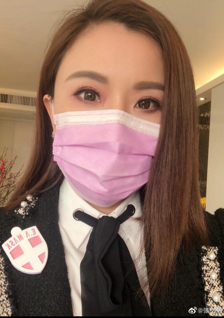 張文慈在社交網站大呻買了紙咁薄的口罩。
