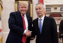 【貿易戰】劉鶴今與美簽署首階段貿易協議 中方承諾4領域購1.56萬億美國貨
