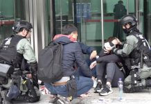 【暴亂不止】中環集會變暴徒襲警 多名警員被打至頭破血流