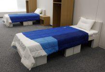 【環保奧運】東京奧運村用紙板床