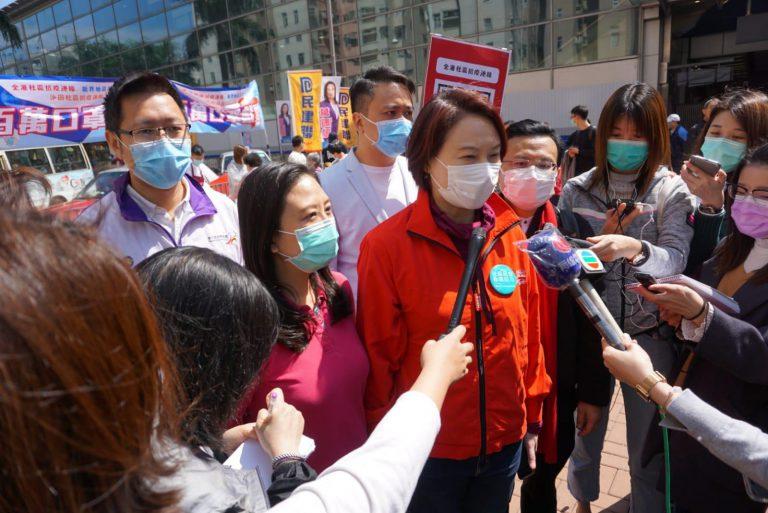 李慧琼呼籲政府盡快協助滯留內地的港人回港。