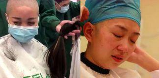 【武漢加油】四位90後最美女護士 剪長髮馳援武漢