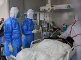 【新型肺炎】不捨離去 武昌醫院院長殉職 妻子追靈車號哭