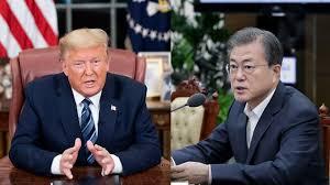 特朗普要求南韓向美國供應新型冠狀病毒檢測試劑。