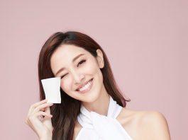 陳凱琳出自家品牌化妝棉