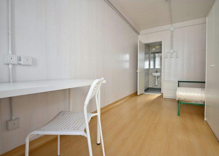 組裝單位可作為病房起分流用途。