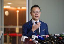 【止暴制亂】郭榮鏗稱拖內會為阻「惡法」 冼國林:已構成公職人員行為失當