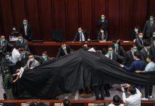 【內會停擺】拖拉七個月終選出主席 建制派批評反對派以黑布遮掩黑暴