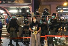 【止暴制亂】網民在旺角及天水圍聚集紀念太子站8.31  多人被票控違限聚令